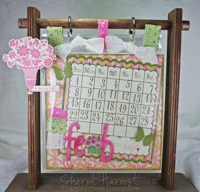 february calendar 2009. Here#39;s my February calendar