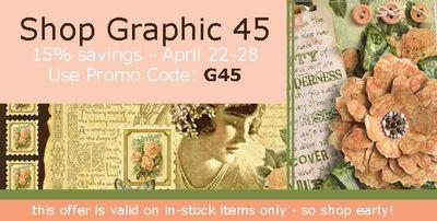 Graphic 45 Promo