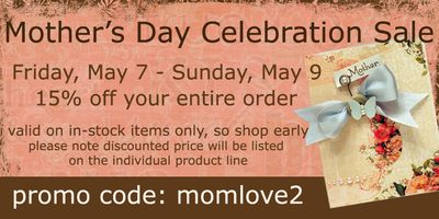 2010 Mothers Day Celebration Sale