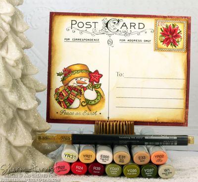 PostcardSnowladyCopicSH