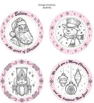 JB 09785 Vintage Christmas