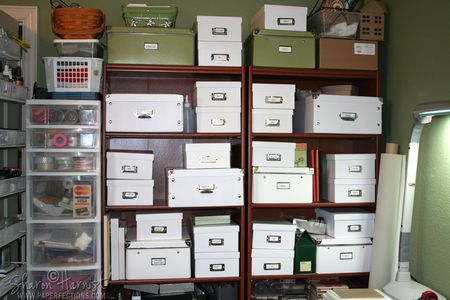 SharonHarnistPaperFectionsStudio-Bookshelves