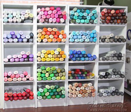Color Cubbies