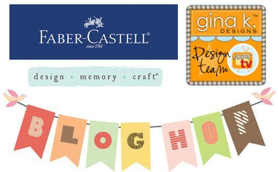 Fabercastell-GinaK-Blog Hop