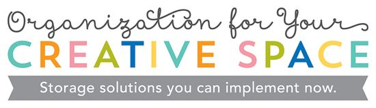 Creative Organization paperfections: organization for your creative space
