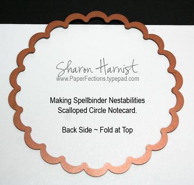 Scallopednotecardback